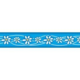 Vodítko  12 mm x 1,8 m - Daisy Chain Turquoise