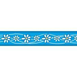 Vodítko  15 mm x 1,8 m - Daisy Chain Turquoise