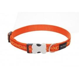 Obojek  25 mm x 41-63 cm - Cosmos Orange