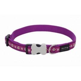 Obojek  25 mm x 41-63 cm - Daisy Chain Purple
