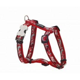Postroj  15 mm x 36-54 cm - Bandana Red