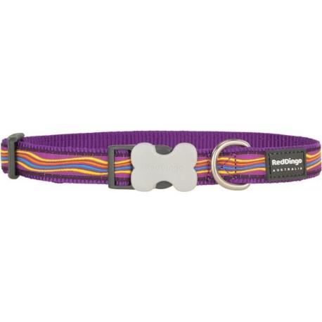 Obojek  12 mm x 20-32 cm - Dreamstream Purple
