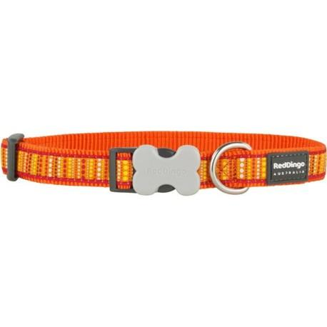 Obojek 12 mm x 20-32 cm - Lotzadotz Orange