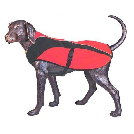 D-FA DOGS Arma-Doggo - bunda pro psy - Red/Blk - small