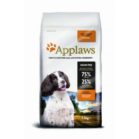 Applaws DOG ADULT SMALL & MEDIUM BREED CHICKEN 2 kg - Granule pro psy