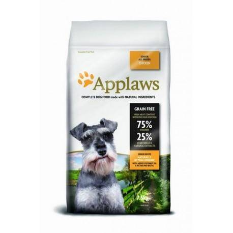Applaws DOG SENIOR ALL BREED CHICKEN 7,5 kg - granule pro psy